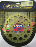 Rear Sprocket Renthal Alloy 184-520-44P-HA