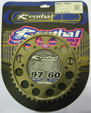 Rear Sprocket Renthal Alloy 210-530-42P-HA