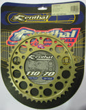 Rear Sprocket Renthal Alloy 210-530-44P-HA