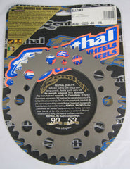 Rear Sprocket Renthal Alloy 409-520-40-HA