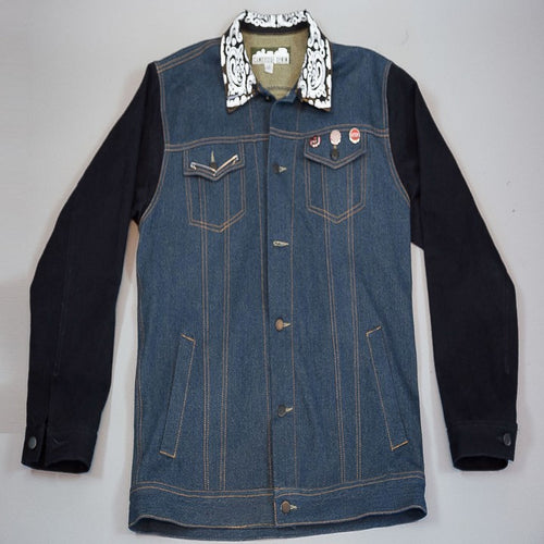 Denim Pit Jacket