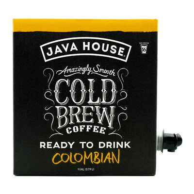 Colombian Cold Brew Coffee On Tap, 128 fl oz.