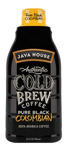 JAVA HOUSE® - Pure Black - Colombian - Ready to Drink - 32oz
