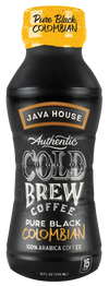 Pure Black Cold Brew Coffee - 12 pack