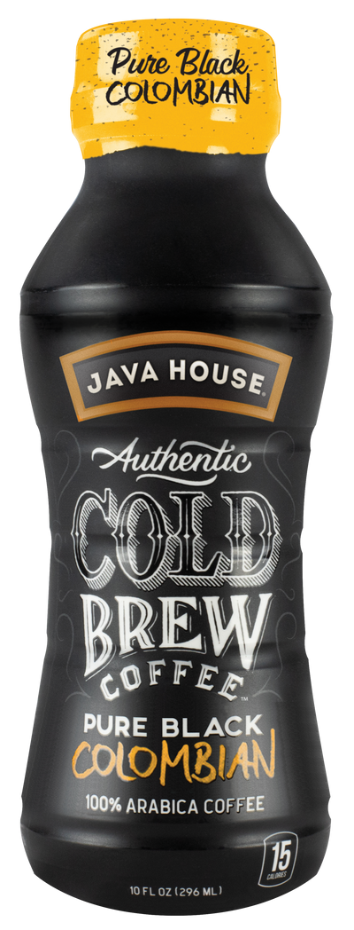 Pure Black Colombian Cold Brew Coffee, 10 oz.