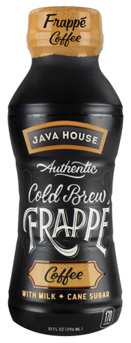 JAVA HOUSE® - Frappé - Coffee - Ready to Drink - 12-Pack