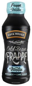 JAVA HOUSE® - Frappé - Vanilla - Ready to Drink - 12-Pack