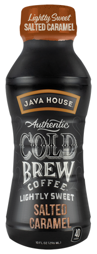 JAVA HOUSE® - Lightly Sweet - Salted Caramel - Ready to Drink - 12-Pack
