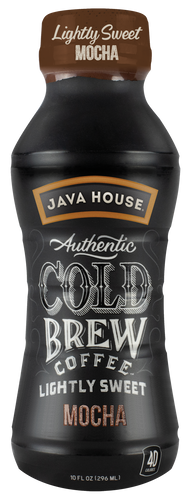 JAVA HOUSE® - Lightly Sweet - Mocha - Ready to Drink - 12-Pack