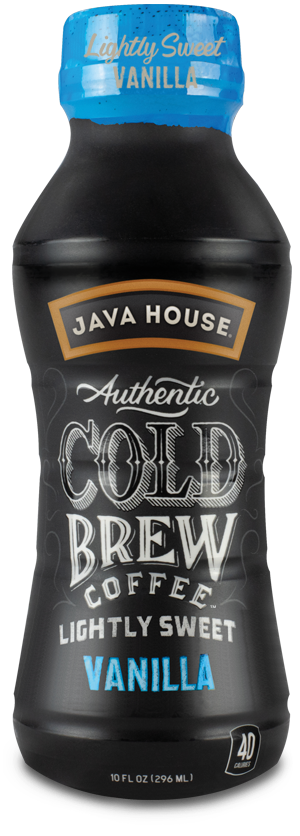 Lightly Sweet Vanilla Cold Brew Coffee, 10 oz.