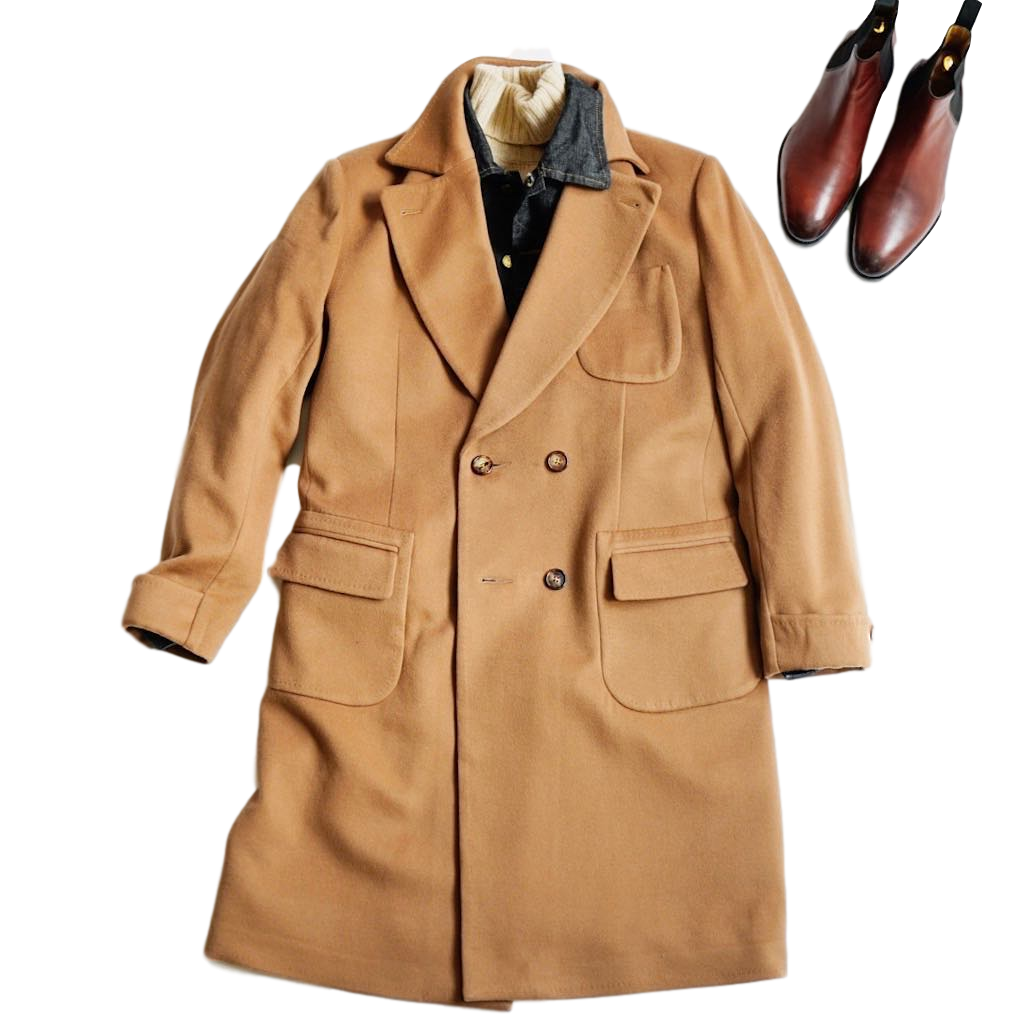 Our Modern Take On The Famous Camel Coat Seen In American Gigolo
