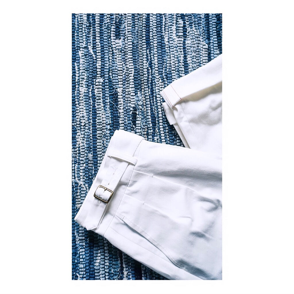 Off-White Selvedge Japanese Denim Gurkha Trousers