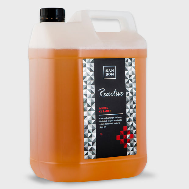 Reactive Wheel Cleaner 5L grey background
