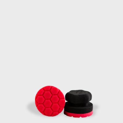 two tyre sponges to scale grey background