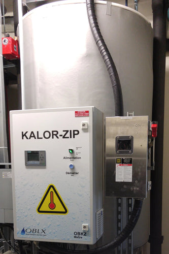 KALOR-ZIP Heat Disinfection system