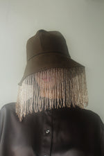 Bugle Bead Bucket Hat
