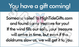 Gift on the Way Digital Message - Can Be Personalized!