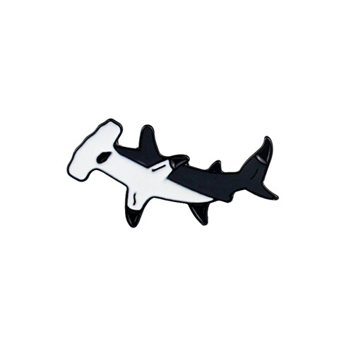 New! Hammerhead Shark Enamel Pin
