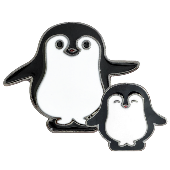 Friendly Penguins Enamel Pins