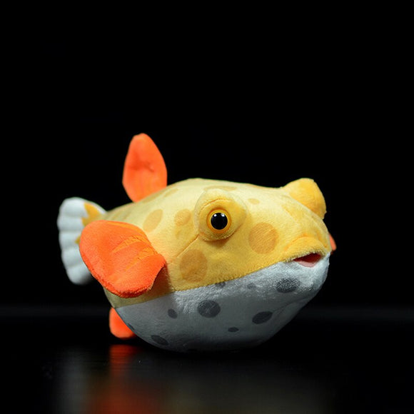 Yellow Boxfish Plush ~ Cuddle Fish Collection