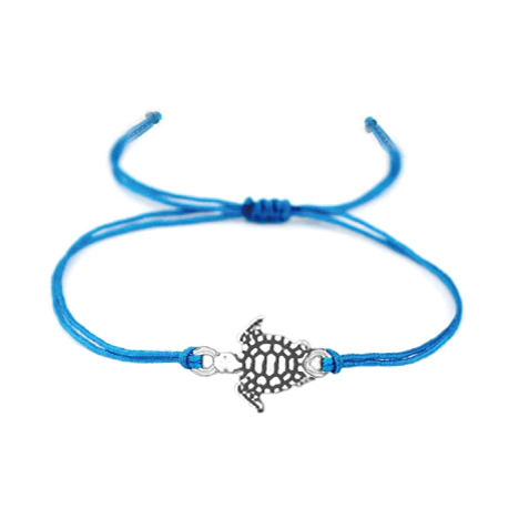 Turtle Adjustable Cord Bracelets