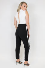 ABBY JUMPSUIT IVORY