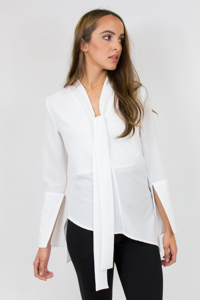 ESSENCE BLOUSE IVORY