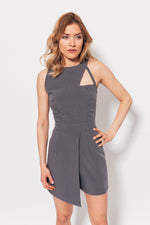 LUXURIANT JUMPSUIT GRAY