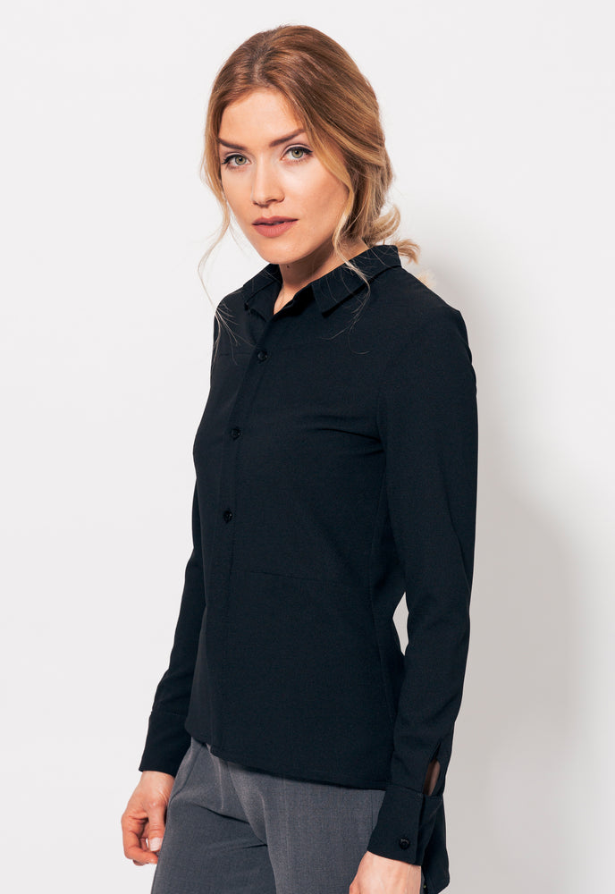 VISION BLOUSE BLACK