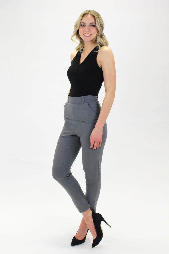 COVER PANTS GRAY