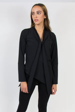 ESSENCE BLOUSE BLACK