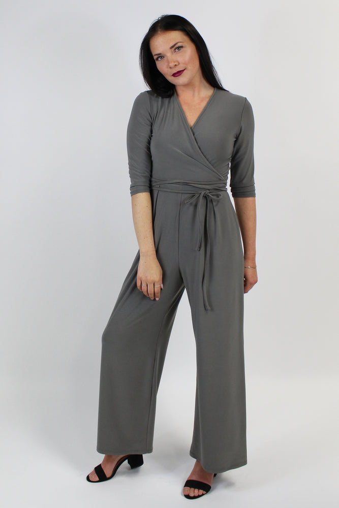 FRANCE JUMPSUIT LIGHT KHAKI