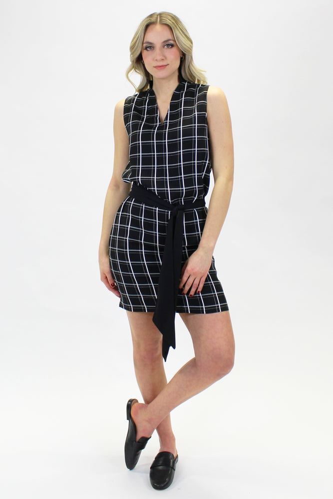 JOANIE DRESS PLAID