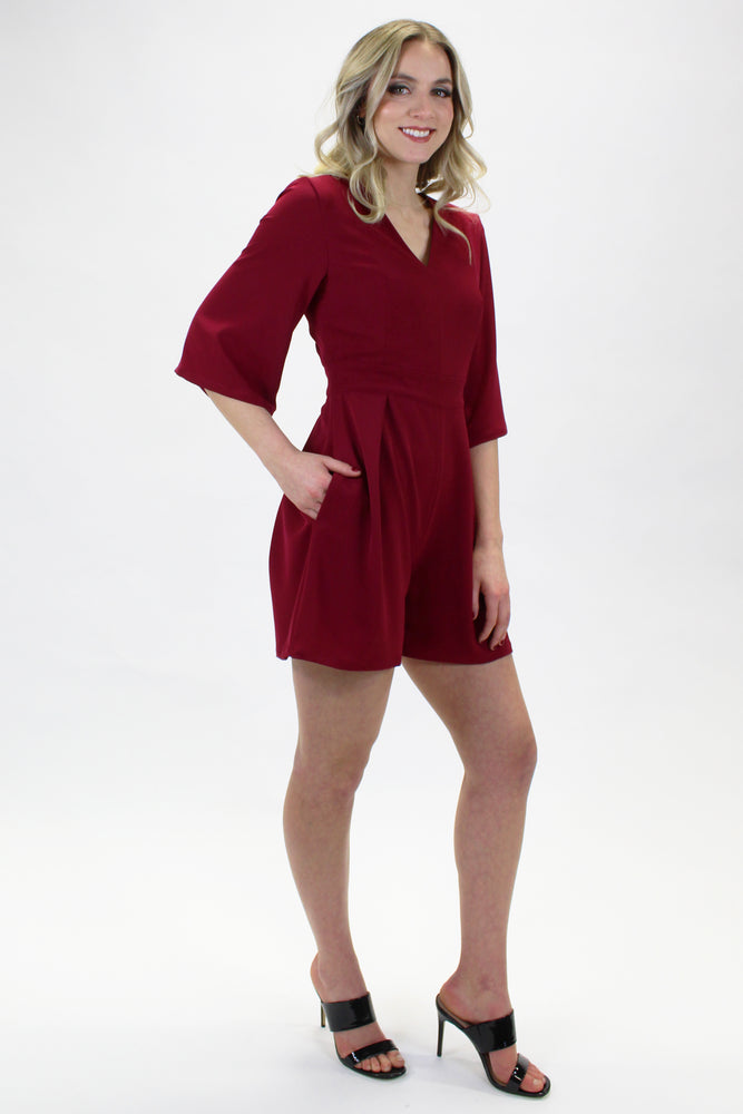 LYSE JUMPSUIT RASPBERRY