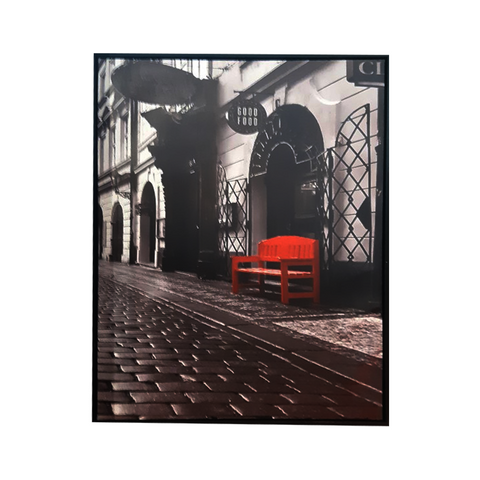 TOILE - BANC ROUGE