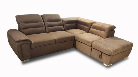Sectionnel Sofa-lit Adama