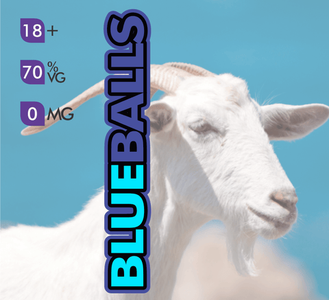 Crazy Goat Vapes - Blue Balls