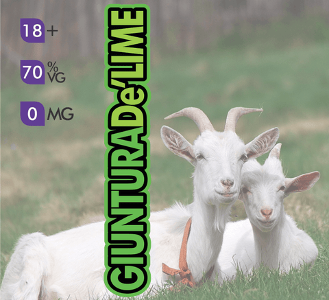 Crazy Goat Vapes - Giuntura De Lime
