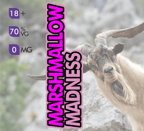 Crazy Goat Vapes - Marshmallow Madness