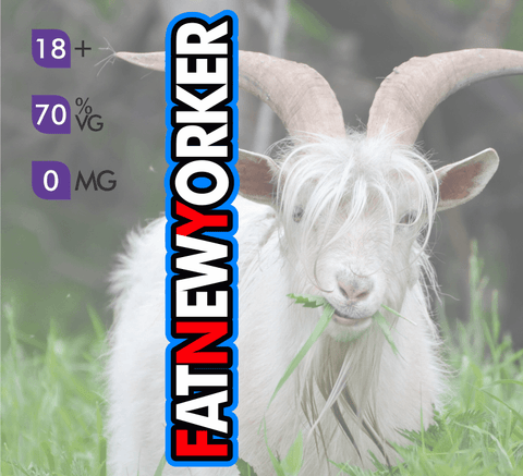 Crazy Goat Vapes - The Fat New Yorker