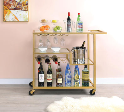 Acme Adamsen Bar Cart-Acme-Happy Home Bars