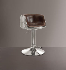Acme Brancaster Adjustable Bar Stool-Acme-Happy Home Bars