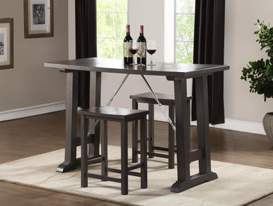 Acme Filbert Counter Height Table-Acme-Happy Home Bars