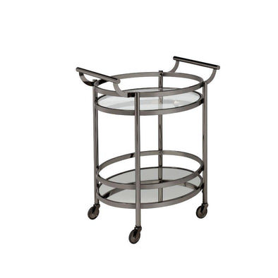 Acme Lakelyn Black Bar Cart-Acme-Happy Home Bars