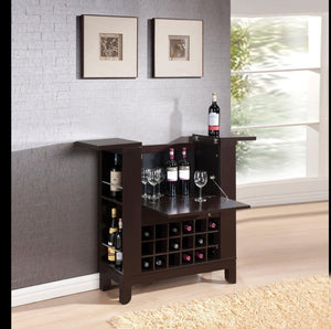 Acme Nelson Wine Cabinet-Acme-Happy Home Bars