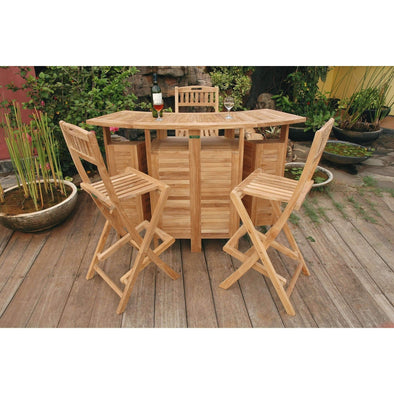 Anderson Teak Altavista Bar Set-Anderson Teak-Happy Home Bars