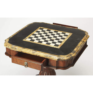 Butler Specialty Carlye Fossil Stone Game Table-Butler Specialty-Happy Home Bars