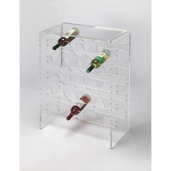 Butler Specialty Crystal Clear Wine Rack-Butler Specialty-Happy Home Bars