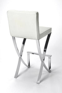 Butler Specialty Darcy Chrome Bar Stool-Butler Specialty-Happy Home Bars