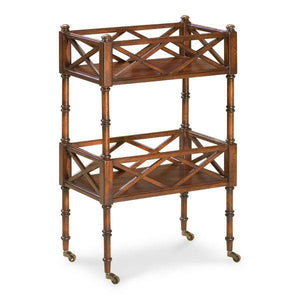 Butler Specialty Foster Cherry Bar Cart-Butler Specialty-Happy Home Bars